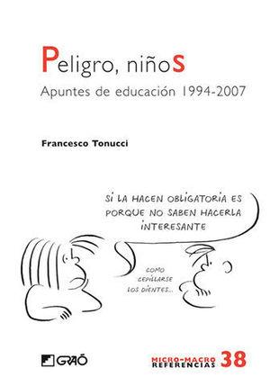 PELIGROS, NIÑOS APUNTES DE EDUCACION 1994-2007