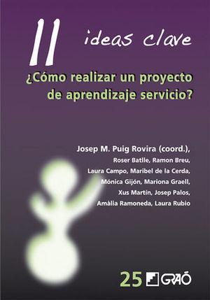 COMO REALIZAR UN PROYECTO DE APRENDIZAJE SERVICIO ? 11 IDEAS CLAVE