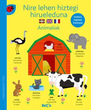 NIRE LEHEN HIZTEGI HIRUELEDUNA-ANIMALIAK