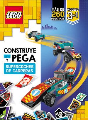 LEGO HARRY POTTER.  CONSTRUYE Y PEGA